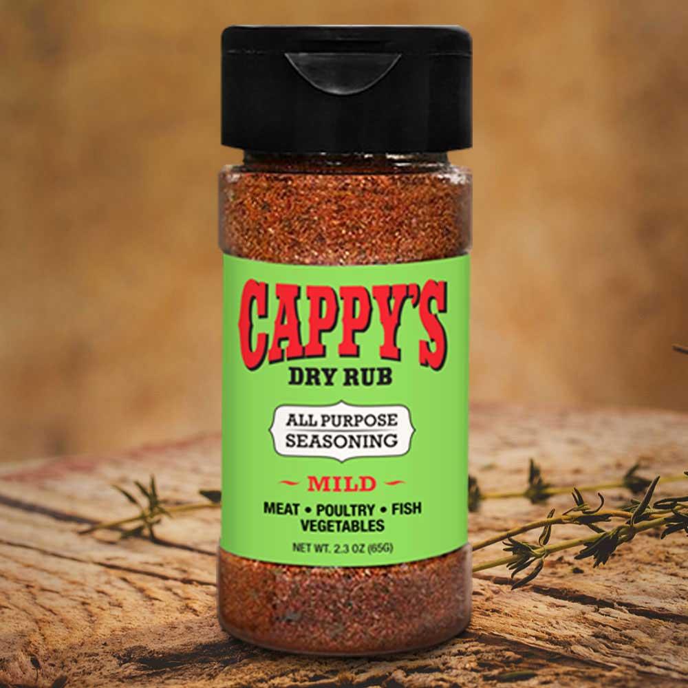 Cappy's Dry Rub Gourmet Spice Blend - Mild (2 3oz)